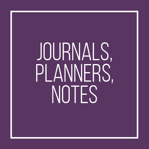 Journals, Planners and Notes